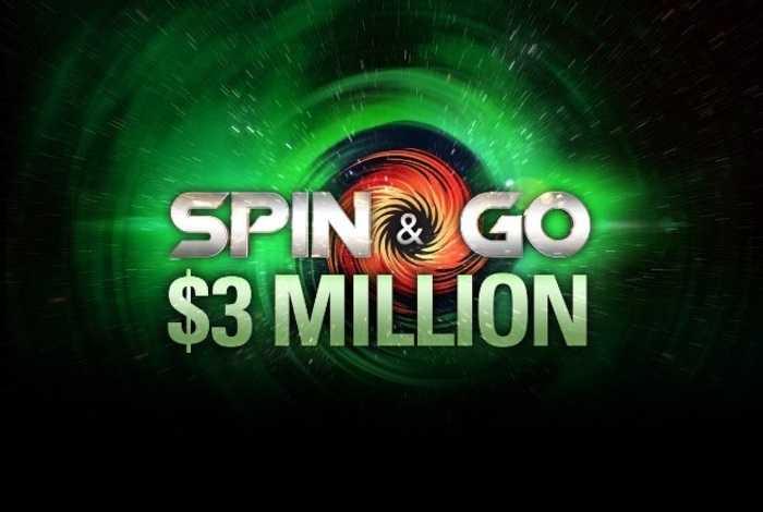 На PokerStars появились Spin and Go с бай-ином $40 и джекпотом $3,000,000