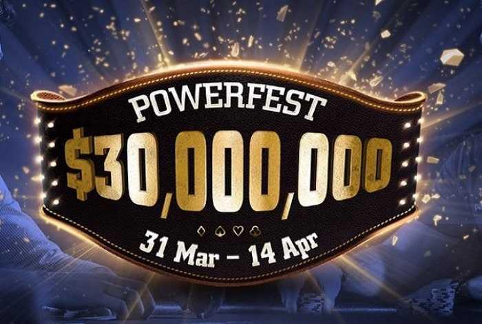 Powerfest вернется на partypoker 31 марта с гарантией в $30 млн