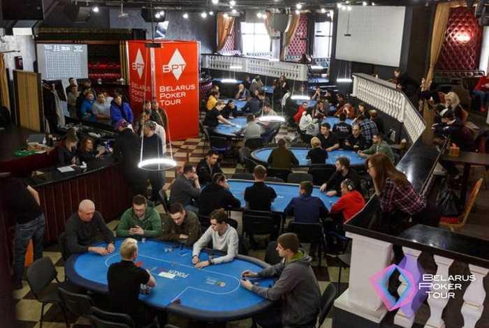 В Минске стартовал 26 этап Belarus Poker Tour