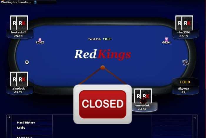 Сайт RedKings закроет покер-рум и букмекерскую контору в апреле