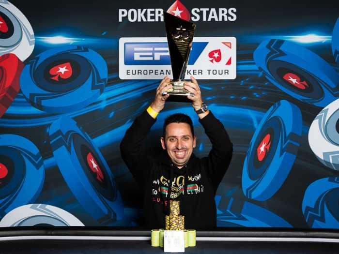 Серхио Аидо — победитель Super High Roller