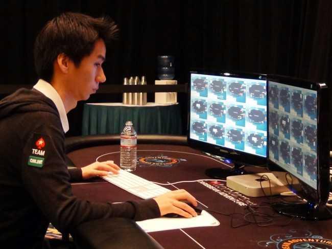Рэнди играет за 24 столами на PokerStars