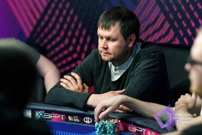 Александр Черницын - раннер-ап Main Event (18,428 BYN)