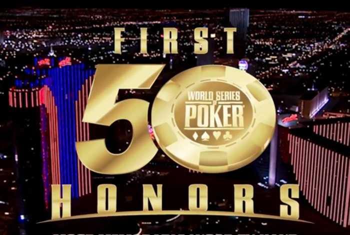 На WSOP пройдет церемония награждения лучших покеристов в истории