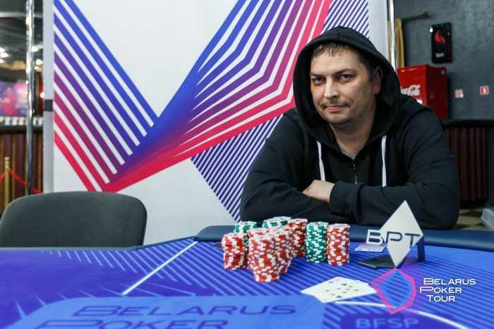 Михаил Мацкевич - победитель Турнира открытия (3,244 BYN)