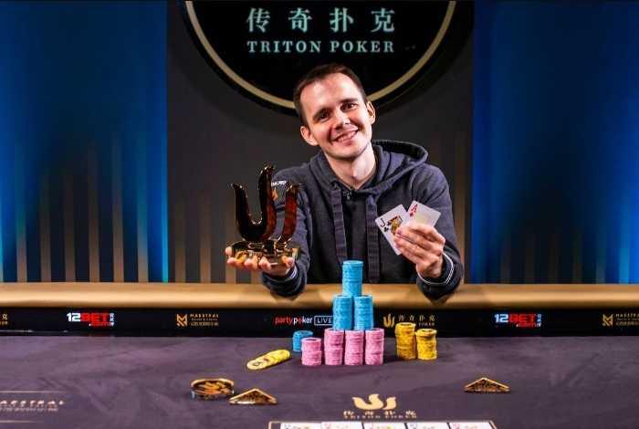 Никита Бодяковский в третий раз победил на хайроллер-серии Triton Poker