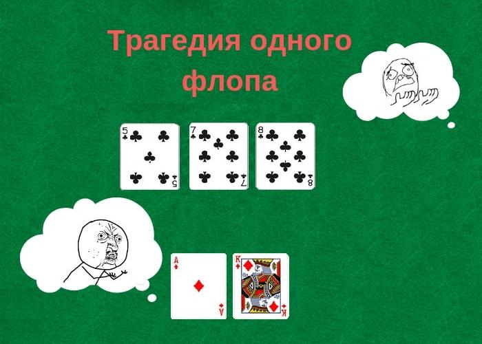 Флоп в покере: как первые карты влияют на ход раздачи