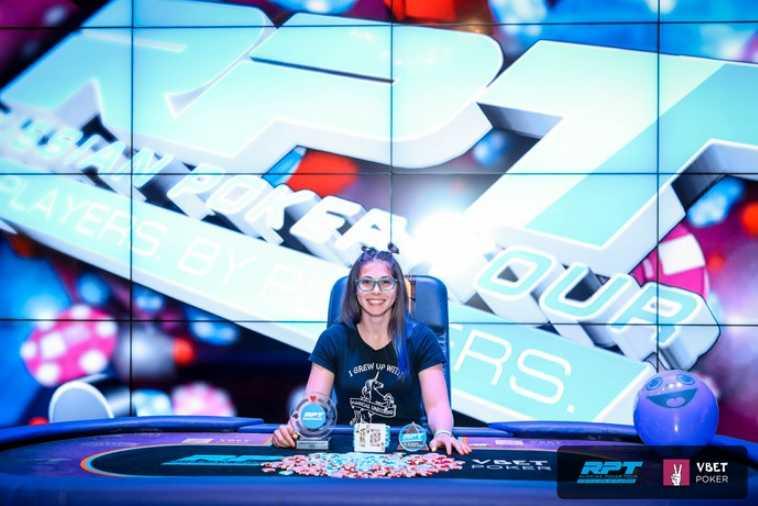 Виктория Басистова - победительница Under Pressure Knockout Event