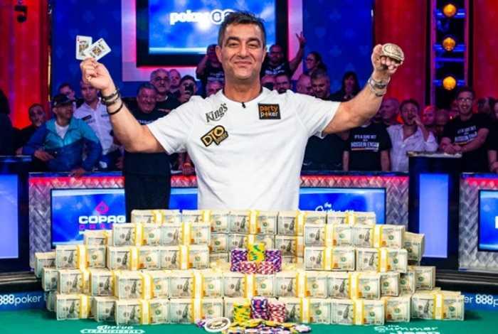 Хоссейн Энсан— победитель Главного события WSOP 2019 ($10,000,000)