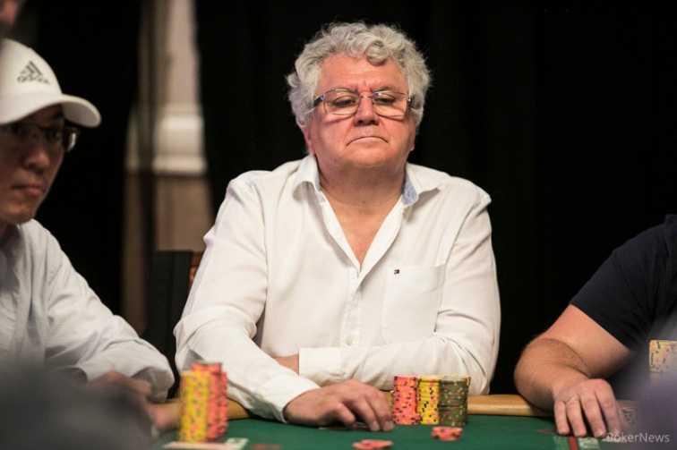 Константин Пучков за финальным столом