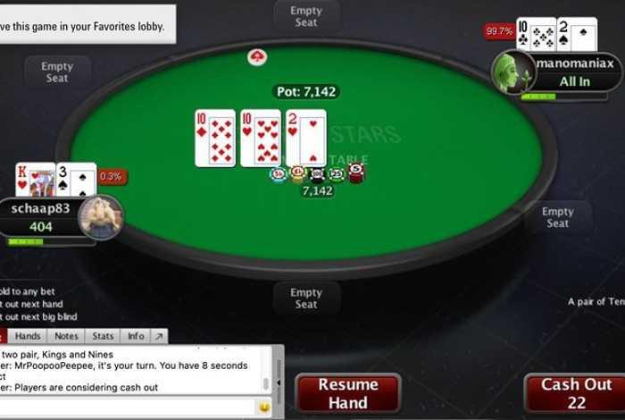 Не работает казино покер старс игровые аппараты спортлото