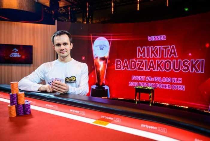 Никита Бодяковский выиграл хайроллер-турнир на British Poker Open ($600,074)