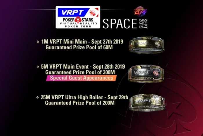 Virtual Reality Poker Tour – первая виртуальная покерная серия от PokerStars