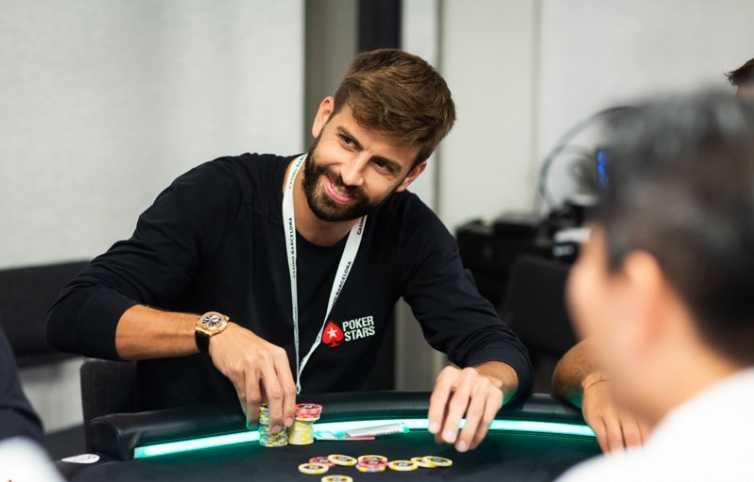 Жерар Пике за покерным столом