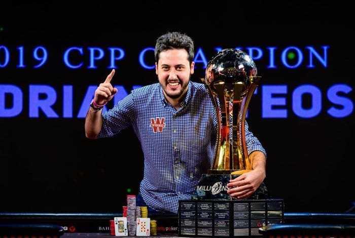 Адриан Матеос выиграл Main Event на Caribbean Poker Party