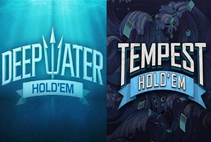 PokerStars запустил два новых формата: Deepwater и Tempest Hold'em