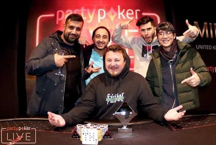 Николай Пономарев победил на турнире Mini Main Event на partypoker Millions UK