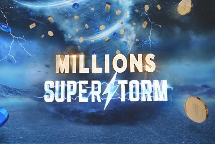 На 888poker проходит акция Millions Superstorm с розыгрышем $3,000,000