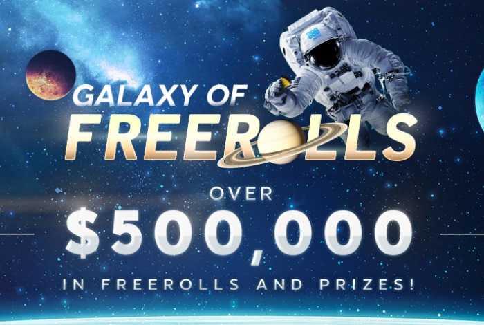 Акция Galaxy of Freerolls на 888poker: $500,000 в ежедневных фрироллах