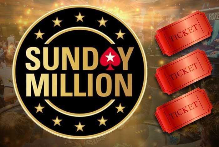 Poker ru разыграет три билета на Sunday Million