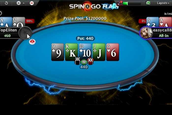 В Spin & Go Flash за $5 разыгрался джекпот в $1,200,000 – россиянин «Chagash» занял 3-е место