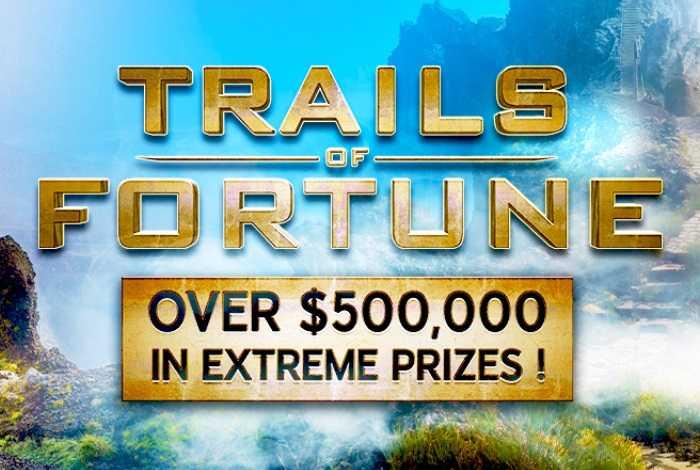 «Trails of Fortune» на 888poker: $500,000 в билетах и денежных призах