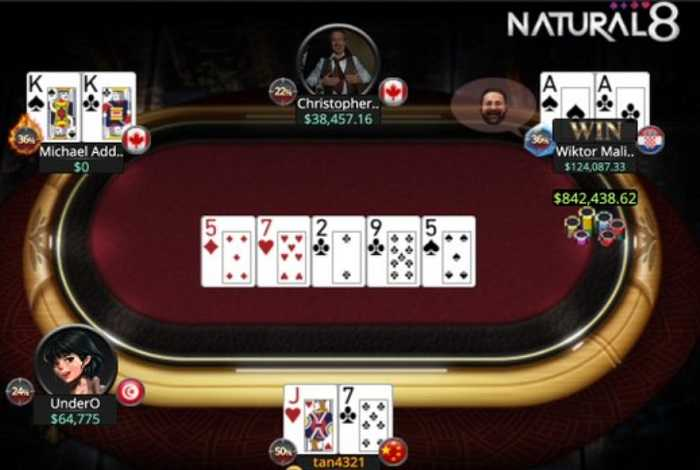 На Natural8 разыгран самый крупный банк NLHE в истории онлайн-покера