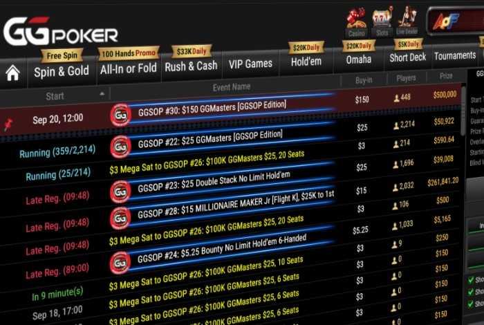 В эти выходные на серии GGSOP на GGPokerOK разыграется $1,000,000 гарантии