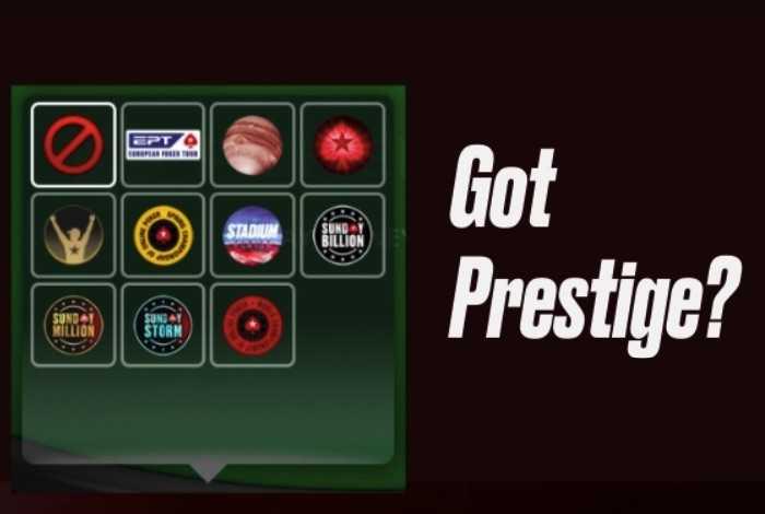 PokerStars Prestige — новая функция для турнирных игроков