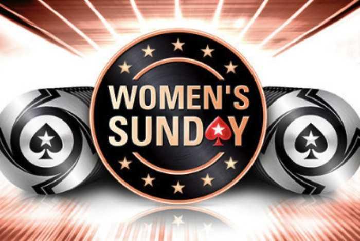 На PokerStars пройдет специальный Women's Sunday с билетами на юбилейный Sunday Million