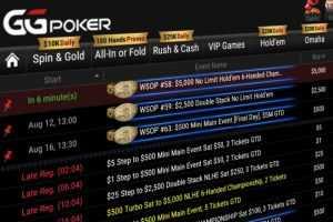 WSOP Online на GGпокерок