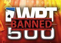 Бан на WPT500