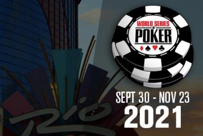 WSOP 2021 пройдет с 30 сентября по 23 ноября и разыграет 88 золотых браслетов