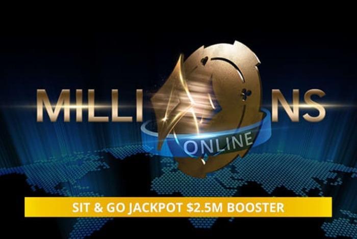 Partypoker удвоит $2,500,000 призовых для чемпиона MILLIONS Online