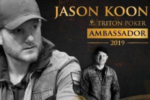Джейсон_Кун_стал_первым амбассадором Triton Poker