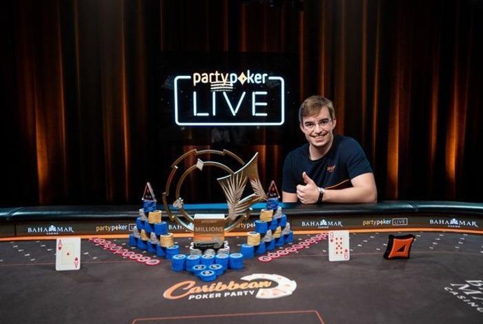 Филипе Оливейра— победитель Main Event Caribbean Poker Party ($1,500,000)