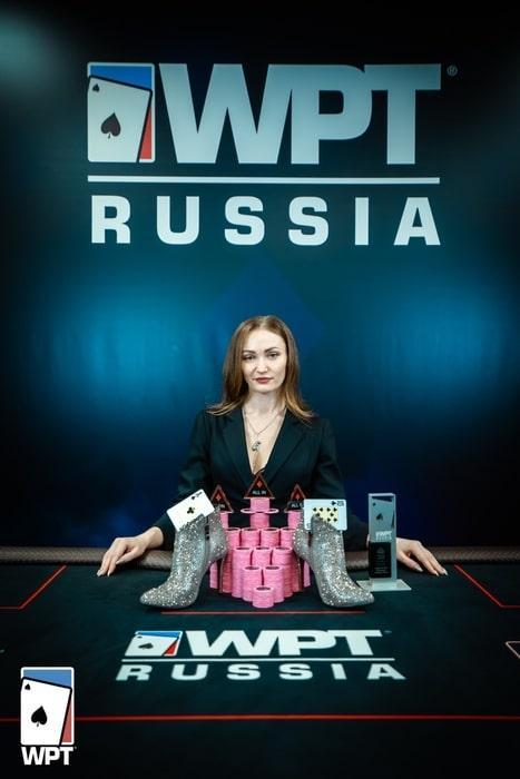 Маргарита Ладова - победитель WPT Ladies Event ($2,800)