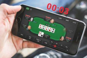 PokerStars сократил время на принятие решения