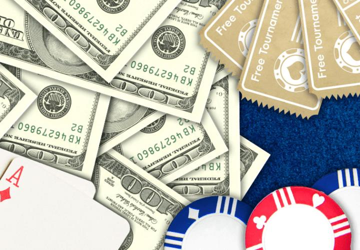 Бездепозитный бонус в покере за регистрацию