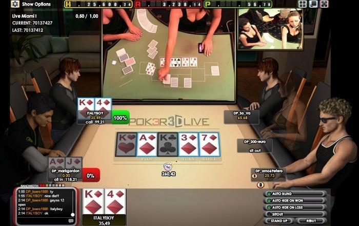 онлайн крупье покер с